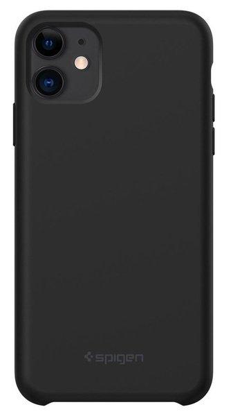 ЧехолSpigenдляiPhone11SiliconeFitBlack