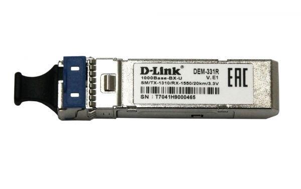 Купить Модули для коммутаторов, SFP-Трансивер D-Link 331R/20KM (331R/20KM)