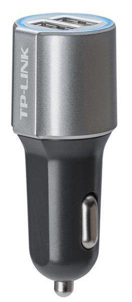 Купить Зарядные устройства для телефонов и планшетов, Автомобильное зарядное устройство TP-LINK CP220, 2E