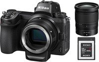 Фотоаппарат NIKON Z6 + 24-70 F4.0 + FTZ Mount Adapter + 64GB XQD (VOA020K009)