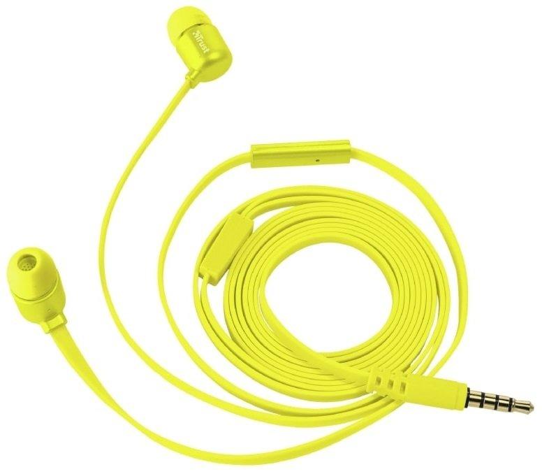 Навушники Trust Duga Mic Neon Yellowфото1