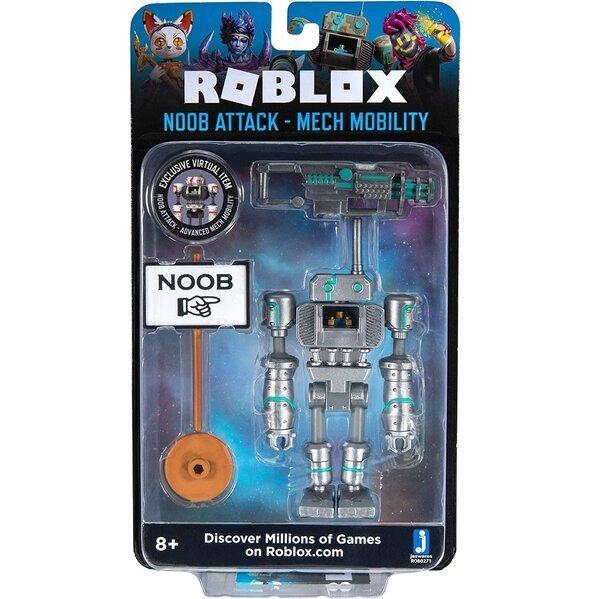 Купить Игровые фигурки, Игровая коллекционная фигурка Jazwares Roblox Imagination Figure Pack Noob Attack - Mech Mobility W7 (ROB0271)