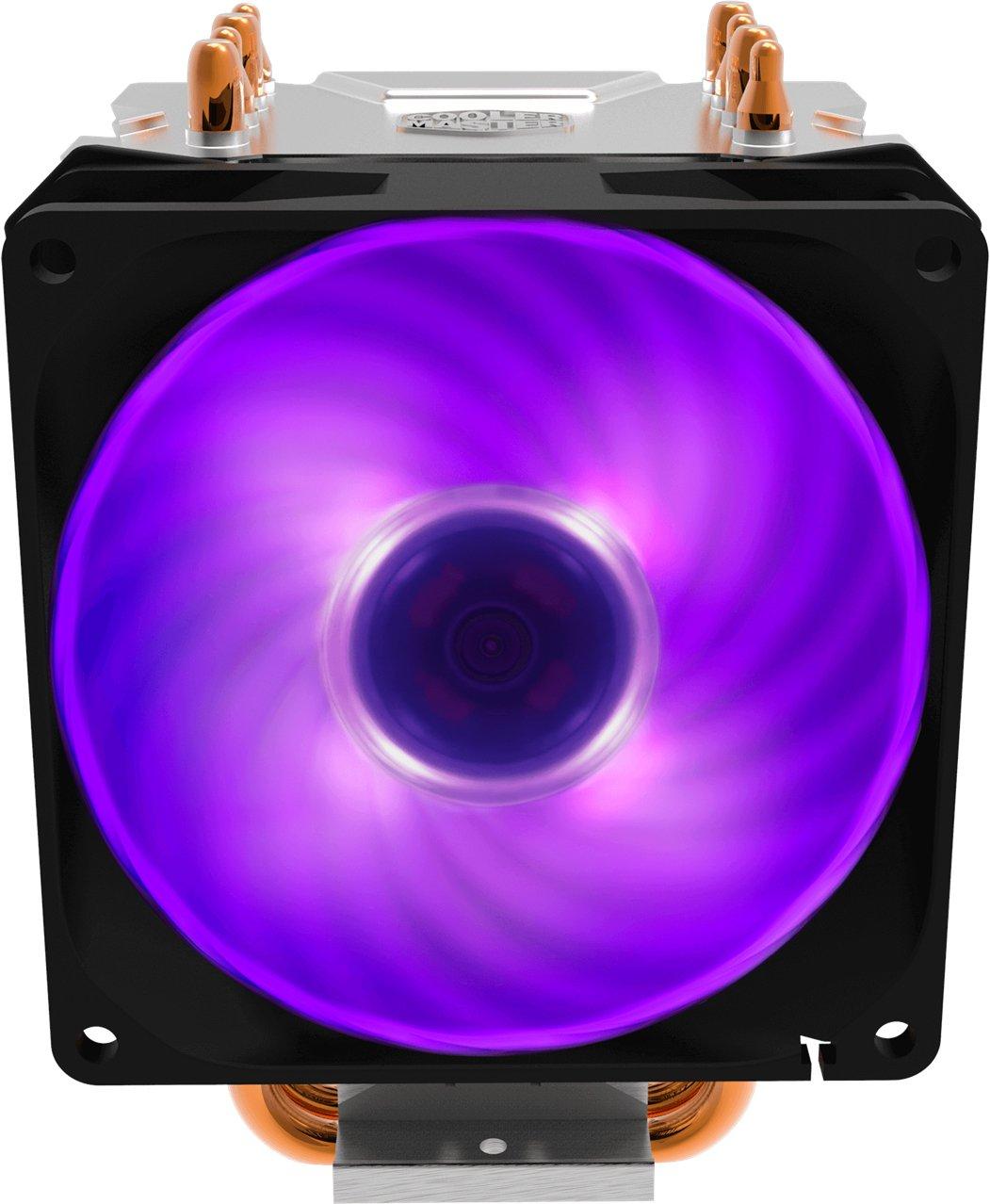 Процесорний кулер Cooler Master Hyper H410R RGB LED PWM (RR-H410-20PC-R1) фото