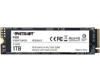 SSD накопитель PATRIOT P300 1TB M.2 NVMe PCIe 3.0 x4 2280 3D (P300P1TBM28)