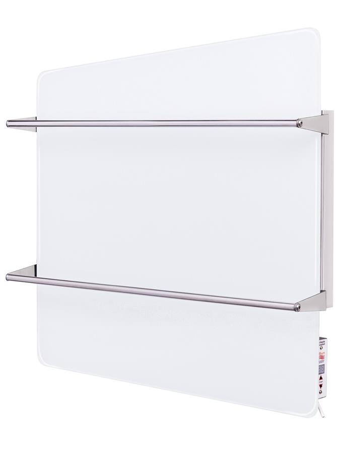 Полотенцесушитель стеклянный с терморегулятором Sun Way SWGТ-RA400-9003 фото 1
