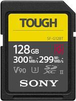 Карта памяти Sony SDXC 128GB C10 Tough UHS-II U3 V90 R300/W299MB/s (SF-G128T)