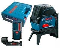 Лазерный нивелир Bosch GCL 2-50 + RM1 + BM3 + LR6 + кейс комбинированный