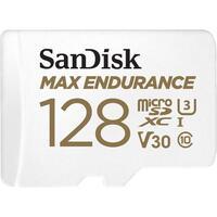 Карта памяти Sandisk microSDXC 128GB Class 10 UHS-I U3 Max Endurance R100/W40MB/s