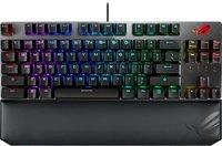 Игровая клавиатура ASUS ROG Strix Scope TKL Deluxe USB Cherry MX Red RGB Red Ru