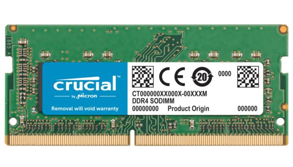 Купить Оперативная память - ОЗУ, Память для ноутбука Micron Crucial DDR4 2666 16GB SO-DIMM for Mac