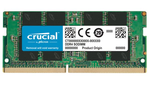 Купить Оперативная память - ОЗУ, Память для ноутбука Micron Crucial DDR4 3200 16GB SO-DIMM