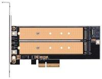 Плата-адаптер SilverStone PCIe x4 для SSD m.2 NVMe