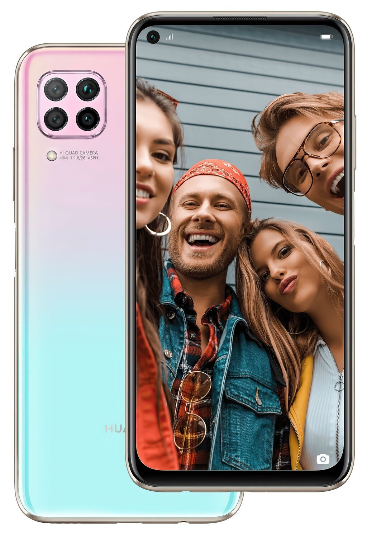 Смартфон Huawei P40 Lite Pink фото 1