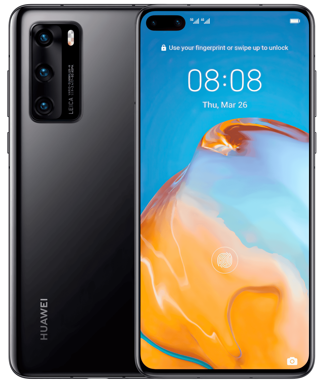 Смартфон Huawei P40 Black фото