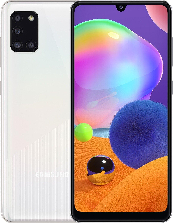 Смартфон Samsung Galaxy A31 4/128Gb Prism Crush White фото 1