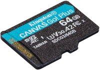 Карта памяти Kingston microSDXC 64GB Canvas Go Plus 170R A2 U3 V30
