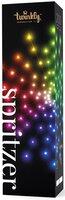 Smart LED Гірлянда Twinkly Spritzer RGB 200 (40х5), BT+WiFi, Gen II, IP44, кабель білий (TWB200STP-WEU)