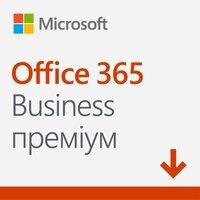 Microsoft Office 365 Business Premium, годовая подписка для 1 пользователя, электронный ключ в конверте (KLQ-00217VK)
