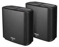 Маршрутизатор ASUS ZenWiFi CT8 2PK black AC3000 3xGE LAN 1xGE WAN 1xUSB3.1 MESH Gaming