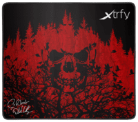 Ігрова поверхня Xtrfy XTP1 f0rest Large, Black-Red (XTP1-L4-FO-1)