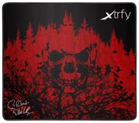 Игровая поверхность Xtrfy XTP1 f0rest Large, Black-Red (XTP1-L4-FO-1)