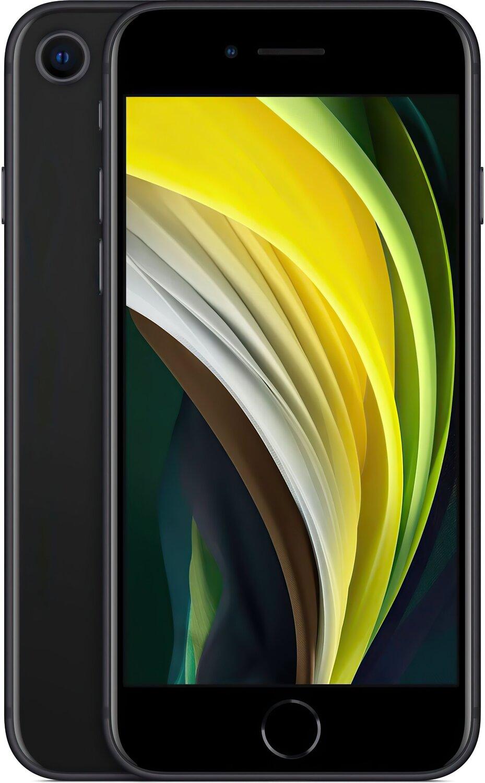 Смартфон Apple iPhone SE 2020 128GB Black (slim box) (MHGT3) фото