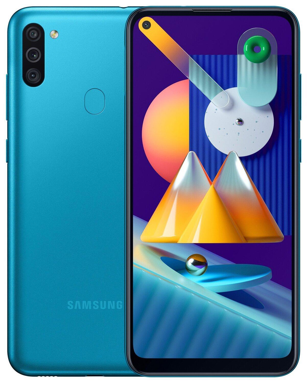 Смартфон Samsung Galaxy M11 M115/32Gb Blue фото 1