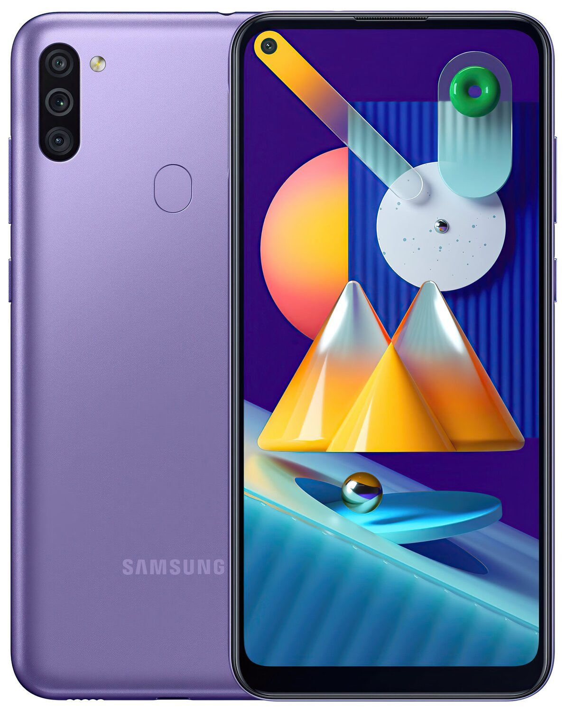 Смартфон Samsung Galaxy M11 M115/32Gb Violetфото