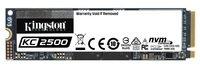 SSD накопитель KINGSTON KC2500 500GB M.2 NVMe PCIe (SKC2500M8/500G)