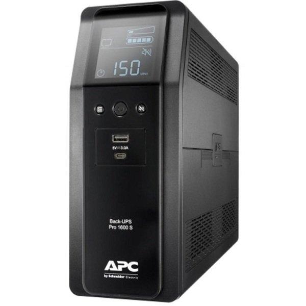 Купить ИБП APC Back UPS Pro BR 1600VA Sinewave8 Outlets AVR LCD interface
