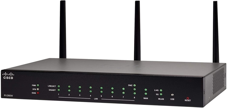 Маршрутизатор Cisco RV260W Wireless-AC VPN Router (RV260W-E-K9-G5) фото