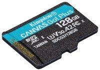 Карта памяти KINGSTON microSDXC 128GB Canvas Go Plus 170R A2 U3 V30
