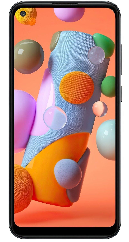 Смартфон Samsung Galaxy A11 Black фото