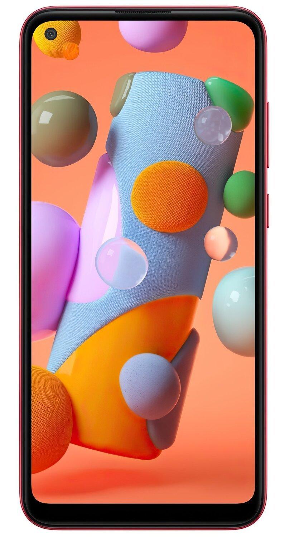 Смартфон Samsung Galaxy A11 Red фото 1