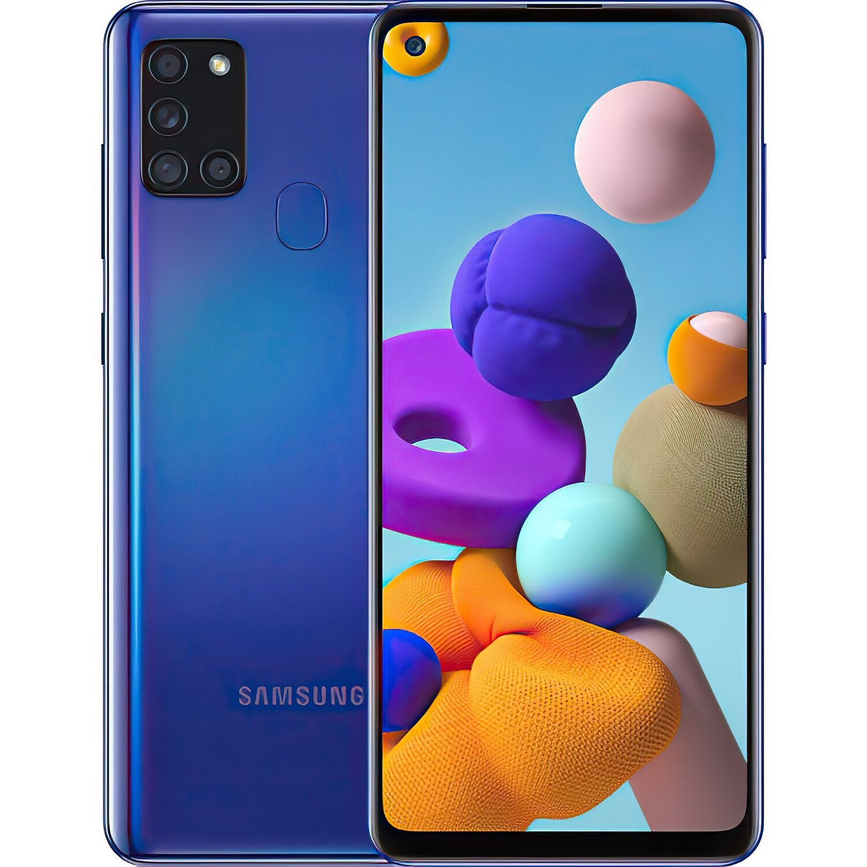 Смартфон Samsung Galaxy A21s 32Gb Blue фото 1