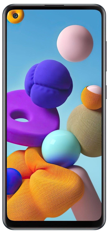 Смартфон Samsung Galaxy A21s 32Gb Black фото