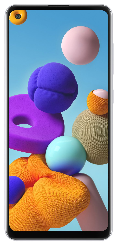 Смартфон Samsung Galaxy A21s 32Gb White фото 1