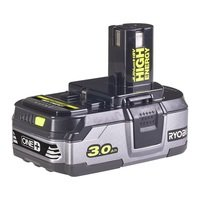 Аккумулятор Ryobi ONE+ RB18L30 18В 3.0 А/ч Lithium+ HIGH ENERGY