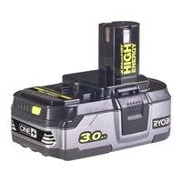 Аккумулятор Ryobi ONE+ RB18L30 18В 3.0 А/ч Lithium+ HIGH ENERGY