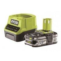 Аккумулятор и зарядное устройство Ryobi ONE+ RC18120-125 18В 2.5А/ч Lithium+