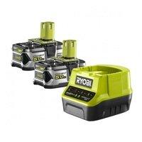 Аккумулятор и зарядное устройство Ryobi ONE+ RC18120-250 18В 2х5.0А/ч Lithium+