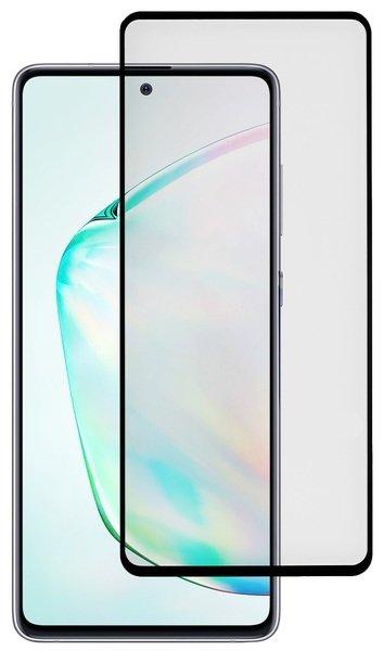 Комплект защитных стёкол 2E для Samsung Galaxy Note 10 lite Black border фото 1