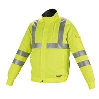 Куртка с вентиляцией Makita DFJ214ZL аккумуляторная LXT/CXT, 10,8-18В (L)