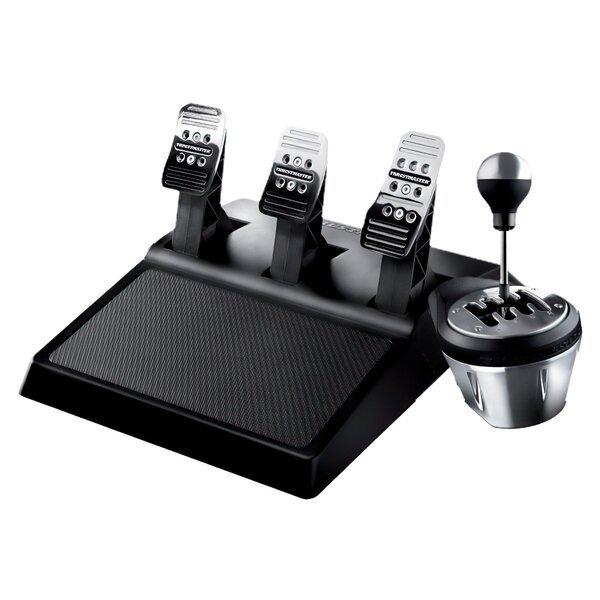 Купить Игровые манипуляторы, Коммплект Шифтер + педальный блок Thrustmaster TH8A & T3PA RACE GEAR (4060129)