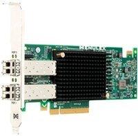 Контроллер Dell EMC Emulex LPe31002-M6-D DP 16Gb FC HBA PCIe FH (403-BBMF)