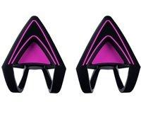 Насадки для наушников Razer Kitty Ears for Kraken (Neon Purple) (RC21-01140100-W3M1)
