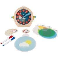 Развивающая игрушка Janod Учимся называть время (J05076)