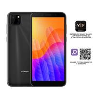 Смартфон Huawei Y5p Dura-L29A Midnight Black