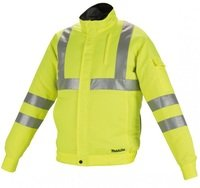 Куртка с вентиляцией Makita DFJ214ZXL аккумуляторная LXT/CXT, 10,8-18В (XL)