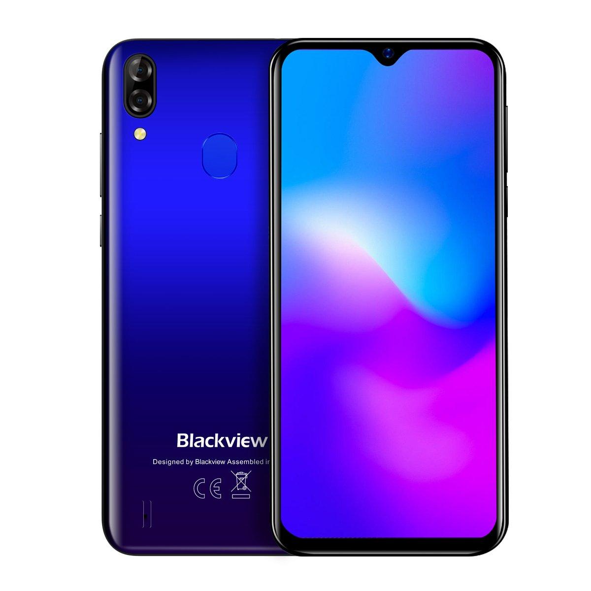 Смартфон Blackview A60 Pro 3/16GB Dual SIM Gradient Blue OFFICIAL UA фото 1